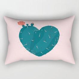 Cactus thorny heart Rectangular Pillow