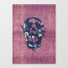 Death in Parts Canvas Print