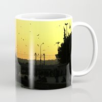 istanbul Mugs featuring Istanbul by habish
