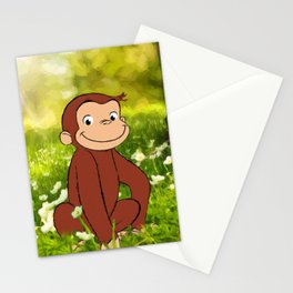 Curious George Stationery Cards