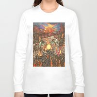charizard Long Sleeve T-shirts featuring charizard war  by IceDragon15