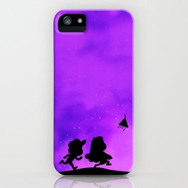 Gravity Falls - Purple iPhone Case