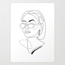 90s Look Art Print