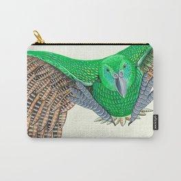 Kakapo in flight Carry-All Pouch