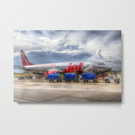 Jet2 Boeing 737 Metal Print