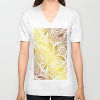 fancy V-neck T-shirts featuring Fancy by Ale Ibanez