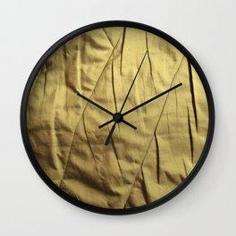 vintage cloth Wall Clock