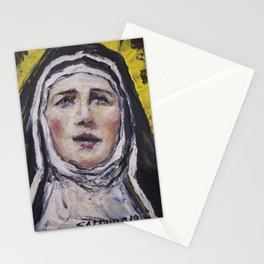 Saint Gertrudis La Magna Stationery Cards