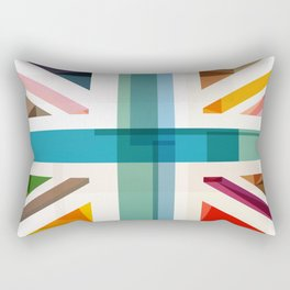MultiCultural Britain Rectangular Pillow