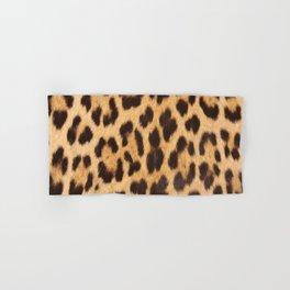 primitive trendy stylish fashionable safari animal leopard Hand & Bath Towel