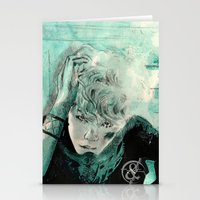 kpop Stationery Cards featuring B.A.P's ZELO by Worldandco