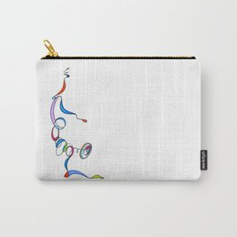 Yoga Scribble - Balance Carry-All Pouch