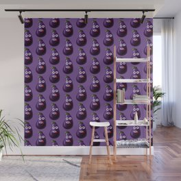 Stressed Out Eggplant Wall Mural