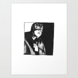 La Luch Adore Art Print