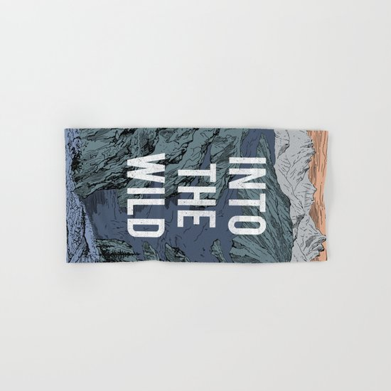 Into The Wild Hand & Bath Towel