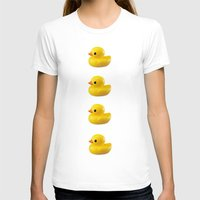 duck T-shirts featuring duck by mark ashkenazi