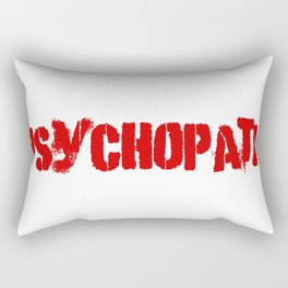 Psychopath Rectangular Pillow