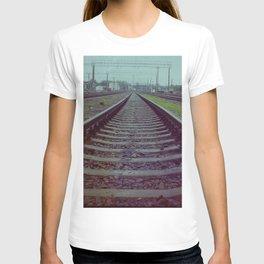 Railroad. Russia. T-shirt