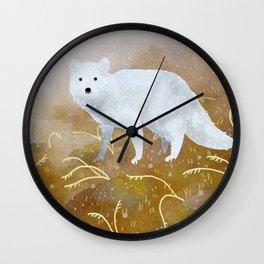Polarfuchs Wall Clock