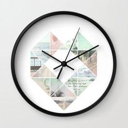 You Never Walk Alone Wall Clock