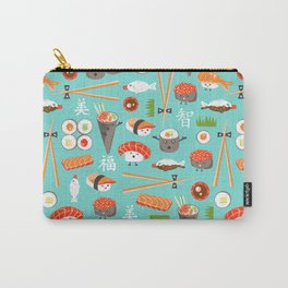 Happy Sushi Carry-All Pouch