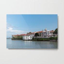 Waterfront in Panama City Panama Metal Print