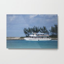 Bahamas Cruise Series 141 Metal Print