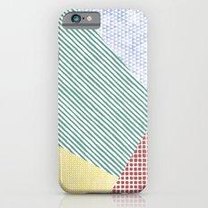 Chalk Patterns Slim Case iPhone 6s