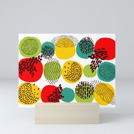Pattern 003: Seasons Mini Art Print