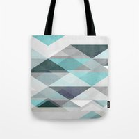 nordic Tote Bags featuring Nordic Combination 1 X by Mareike Böhmer