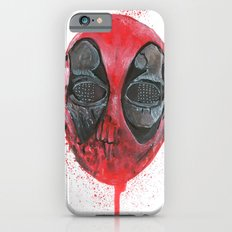 The Emptiness of Masks - Dead pool Slim Case iPhone 6s
