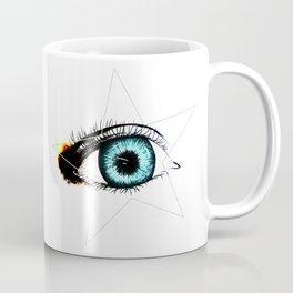 Looking In #3 - Original sketch to digital art Coffee Mug