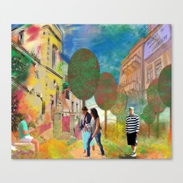 urban Canvas Print