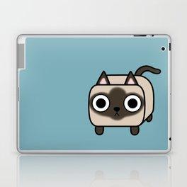 Cat Loaf - Siamese Kitty Laptop & iPad Skin