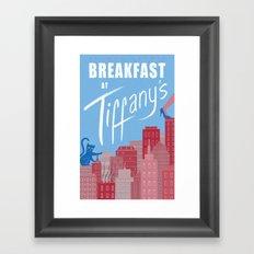 Breakfast at Tiffany's Framed Art Print