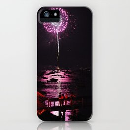 Marblehead Fireworks iPhone Case