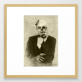 Dark Victorian Portraits: The Hollywood Dead Framed Art Print