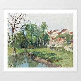 Georges Charles Robin,  Collioure, France Art Print