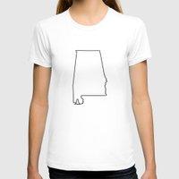 alabama T-shirts featuring Alabama by mrTidwell