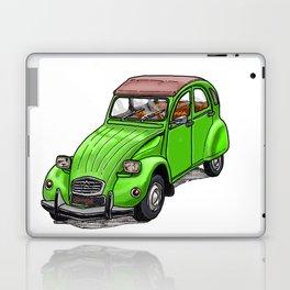 Green 2CV Laptop & iPad Skin