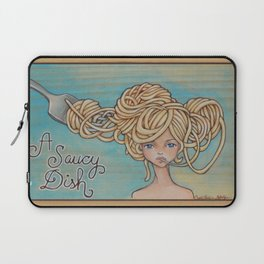 A Saucy Dish Laptop Sleeve