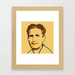 George Orwell Framed Art Print