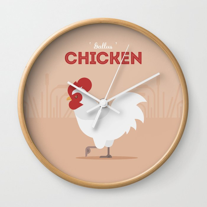 The Chicken Wall Clock
