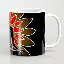 Yoga, Black Coffee Mug