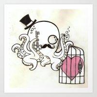 Capture My Heart Art Print
