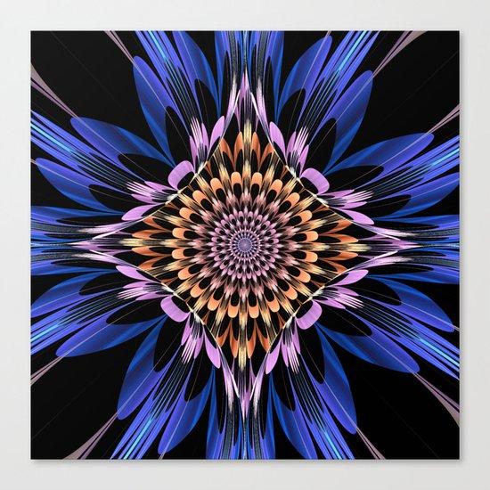 Petals burst Canvas Print