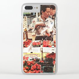 Fruit Day Clear iPhone Case