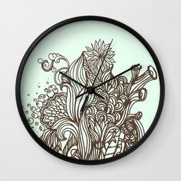 Mint Chocolatey  Wall Clock