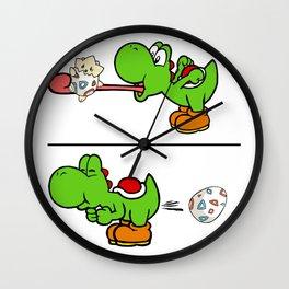 Yoshi and Togepi Wall Clock