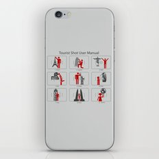 Tourist Shot User Manual iPhone & iPod Skin